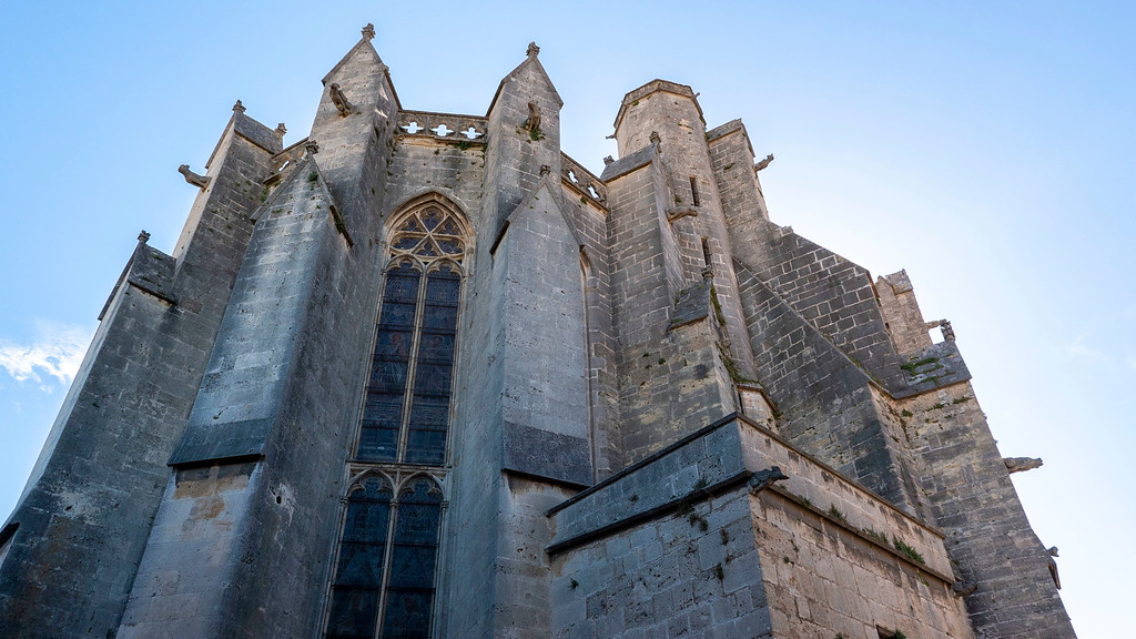 Collegiate Church of Saint Etienne in Capestang France