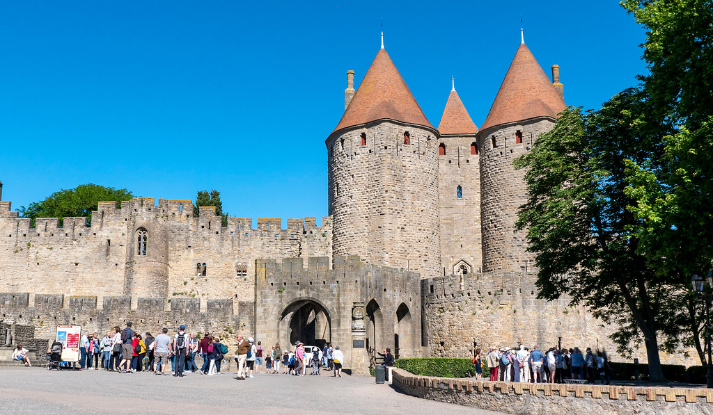 Visit Carcassonne - The Narbonne Gate of Cite de Carcassonne
