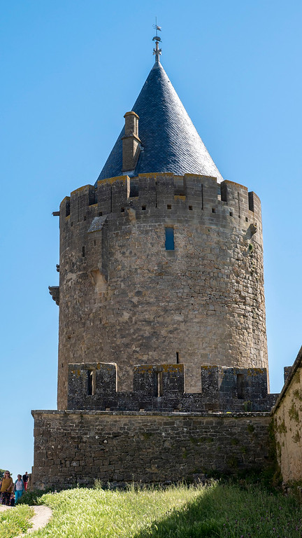 Medieval towns in France: Carcassonne in the South of France