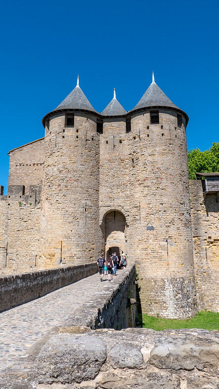 Chateau Comtal - Castle of Carcassonne France