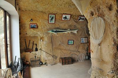 Meschers - Grottes du Régulus - Thème de la pêche à l'esturgeon