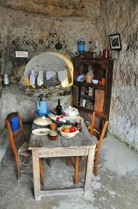Meschers - Grottes du Régulus - La cuisine