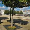 """Rochefort - Place Colbert, célèbre pour le film """"Les demoiselles de Rochefort"""""""