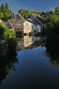 Verteuil-sur-Charente - Un bras de la Charente