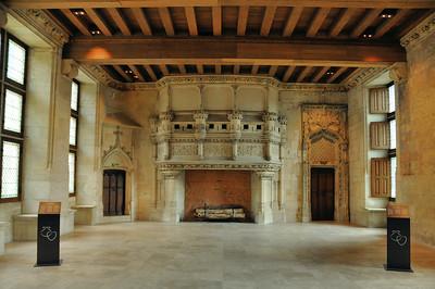 Bourges - Palais de Jacques Cœur - Salle des festins