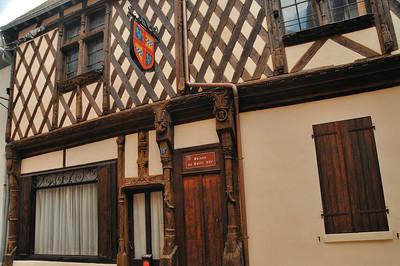 Aubigny-sur-Nère - Rue du Bourg Coûtant - Maison du Bailli