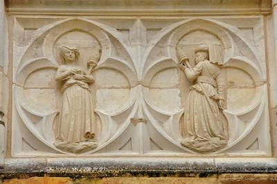 Bourges - Palais de Jacques Cœur - Détail de façade