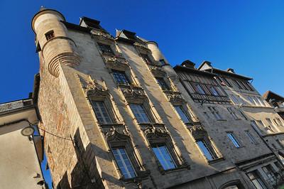 Tulle - Place Gambetta - Maison de Loyac