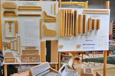 Tulle - Manufacture d'accordéons Maugein - Les éléments de bois