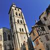 Beaulieu-sur-Dordogne - Rue Thiers - Eglise abbatiale Saint-Pierre