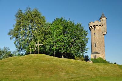 Tour de Masseret, un château d'eau daté de 1954