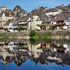 Argentat - Quai Lestourgie et la Dordogne