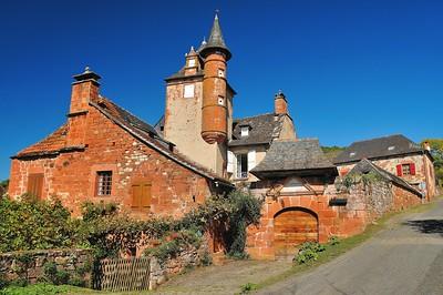 Collonges-la-Rouge - Castel de Maussac