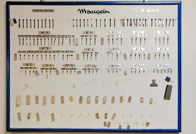 Tulle - Manufacture d'accordéons Maugein - Lamelles vibrantes et anches