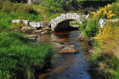 Pont de Sénoueix, sur le ruisseau Thaurion