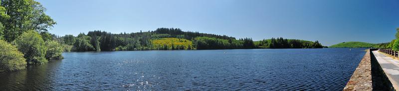Lac de Vassivière - Barrage de Vassivière - Digue d'Auchaise