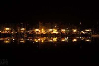 Night reflexions