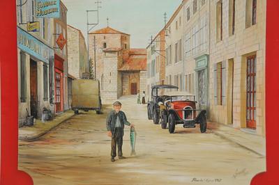 Coulon - Rue de l'Eglise - Vision du passé