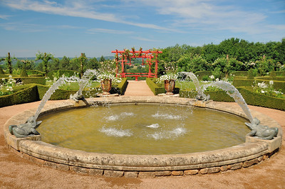 Jardins du manoir d'Eyrignac - Jardin Blanc