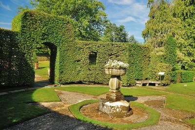 Jardins du manoir d'Eyrignac - Chambre de Verdure