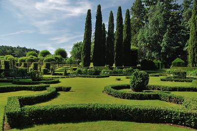 Jardins du manoir d'Eyrignac - Jardin français