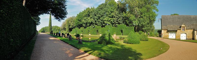 Jardins du manoir d'Eyrignac - Miroir