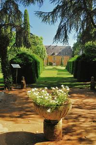 Jardins du manoir d'Eyrignac - Terrasse enchantée