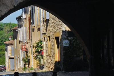 Monpazier - Rue de la Porte de Campan