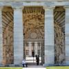 Saline royale d'Arc-et-Senans - Entrée monumentale
