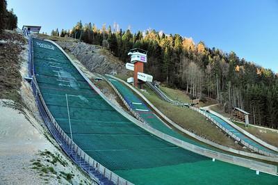 Chaux-Neuve - Tremplin de saut à ski pour le combiné nordique