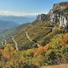 Col de Rousset et rochers de Chironne