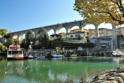 Saint-Nazaire-en-Royans et son aqueduc
