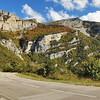 Descente du col de Rousset - But Sapiau et rochers de Plautret