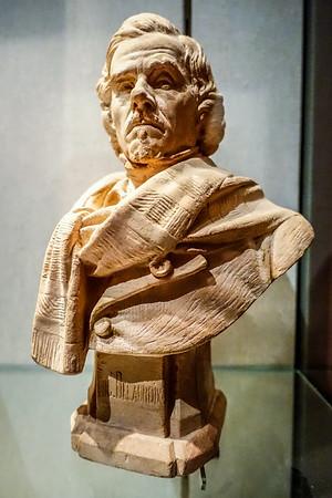 Bust of Delacroix