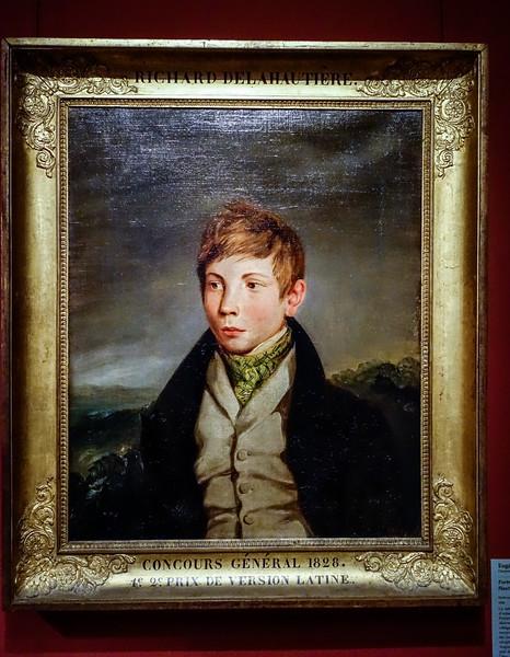 Richard de la Hautiere by Delacroix