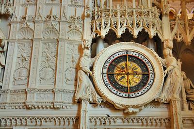 Cathédrale Notre-Dame de Chartres - Horloge astronomique