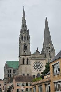 Chartres - Rue de l'Etroit Degré - Cathédrale
