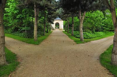 Jardins du château du Champ de Bataille - Vers le Belvédère