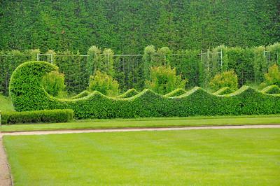 Jardins du château du Champ de Bataille - Carrés de Diane et Apollon