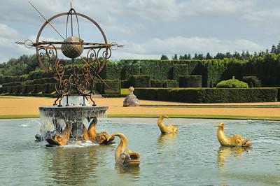 Jardins du château du Champ de Bataille - La Source