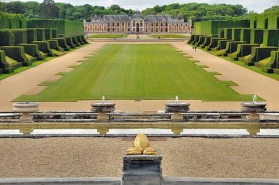 Jardins du château du Champ de Bataille - La Voie