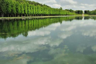 Jardins du château du Champ de Bataille - Le Reflet