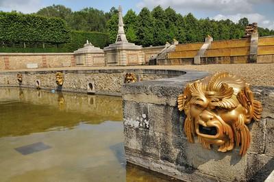 Jardins du château du Champ de Bataille - Les Marches