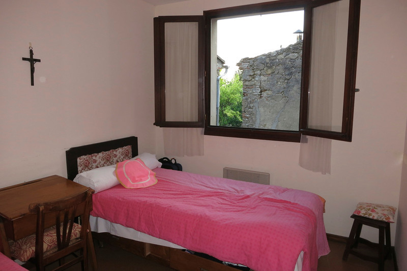 My room in the convent