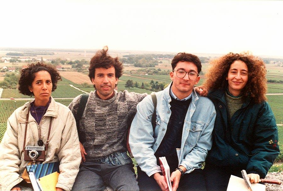 Rabia, Khadim, Stephan, Sabine Borcero