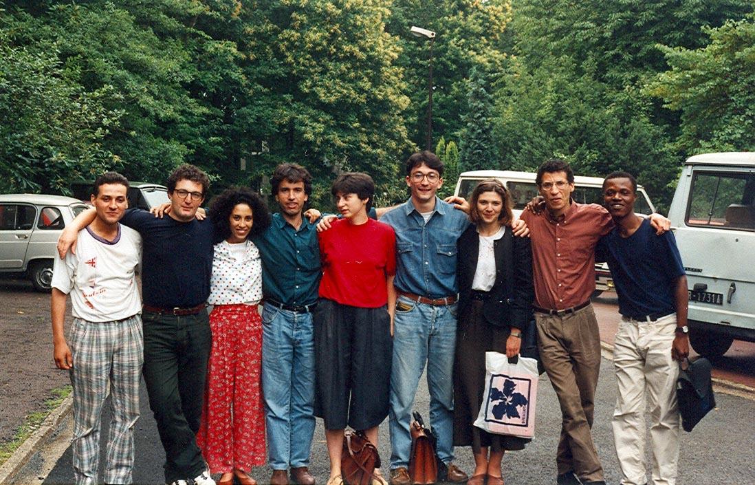 Time to say 'Au revoir', Universite d'Orsay, Paris sud, France. May/June 1992