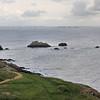 Pointe de Saint-Mathieu (Loc Mazé) - Au large, la presqu'île de Crozon et plus loin, la pointe du Van