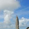 Brignogan-Plages (Brignogan) - Menhir christianisé de Men Marz