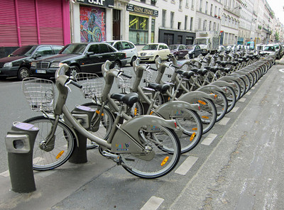 Paris rental bikes