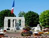 French war memorial, Albert, 14 July 2006.